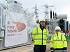 Ebbsfleet Power transformers reach new home in Ebbsfleet.jpg