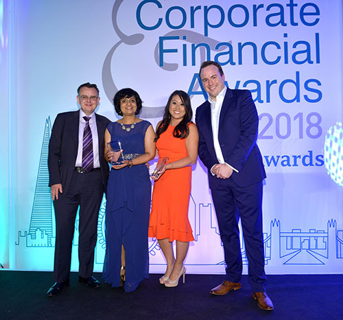 Corporate & Financial Awards