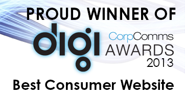 Best Consumer Website Winner 2013 logo